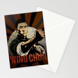 Ip Man, Wing Chun,  Martial Arts, Kung Fu Stationery Cards