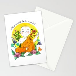 The Buddhist Monk Stationery Cards