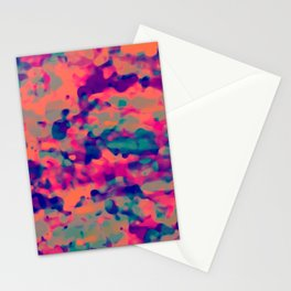 flUo macUla Stationery Cards