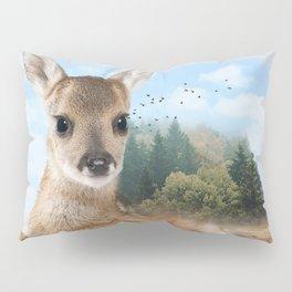 Baby Roe Deer Pillow Sham