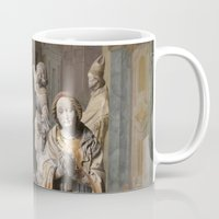 medieval Mugs featuring medieval prayers by Lisa Carpenter