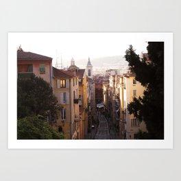 Nice, France Art Print