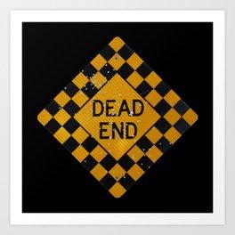 Dead End Shotgun. Art Print