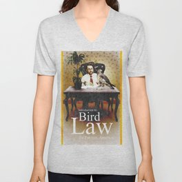 Bird Law Unisex V-Neck