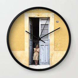 The Doors of Merida XI Wall Clock