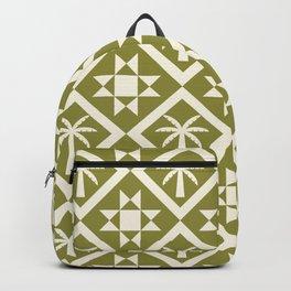 Bohemian Geometric Pattern 06B Backpack