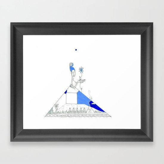 paper_3 Framed Art Print