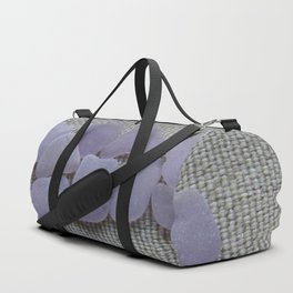 Dark Purple Sea Glass Duffle Bag