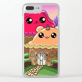 Symetria Wonder Store Clear iPhone Case