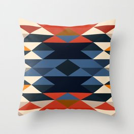 Southwestern Diamonds Throw Pillow