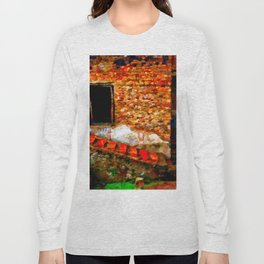 Ruins at Pompeii Italy Long Sleeve T-shirt