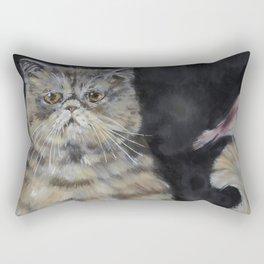 Exotic Birdie Rectangular Pillow