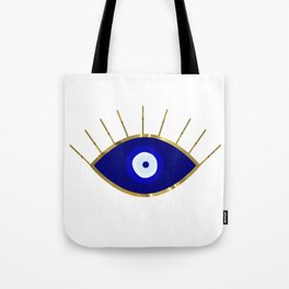 I See You Evil Eye Tote Bag