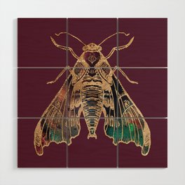 Sphinx Moth Wood Wall Art