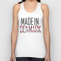 denmark Tank Tops featuring Made In Denmark by VirgoSpice