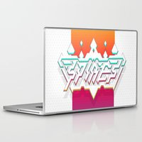 spires Laptop & iPad Skins featuring Spires : Crystyl Cystlys Spectrym  by Spires