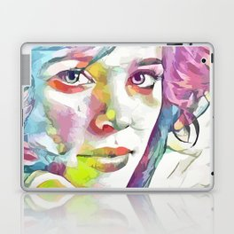 Rachel McAdams (Creative Illustration Art) Laptop & iPad Skin