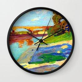 Wassily Kandinsky The Isar Wall Clock