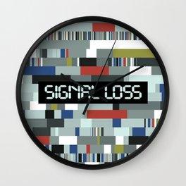 Signal Loss Wall Clock