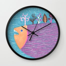 Fish Forest Wall Clock
