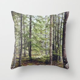Squamish Forest Floor Throw Pillow