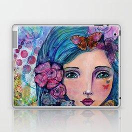 Peyton Whimsical Face Laptop & iPad Skin