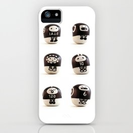 stoneheads 001 iPhone Case