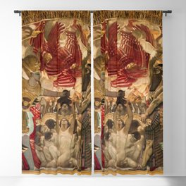 "Classical and Beautiful Masterpiece ""Israelite's Oppressed"" by John Singer Sargent Blackout Curtain"
