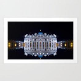 Vatican City Reflexion Art Print