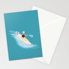 Whitewater Willy Stationery Cards