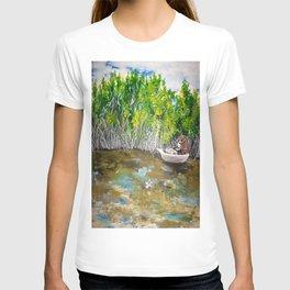Florida Mangrove Tea Water in the Everglades T-shirt