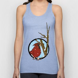 Red In Winter Unisex Tank Top