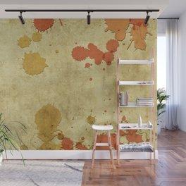 Vintage Paper Splash Wall Mural