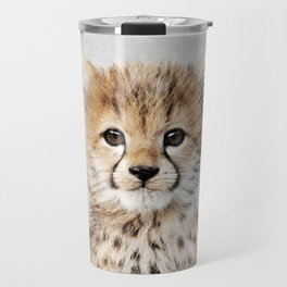 Baby Cheetah - Colorful Travel Mug