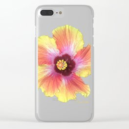 Hibiscus Clear iPhone Case