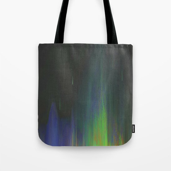Night Rain Tote Bag