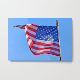 American Breeze and And American Dream (USA Flag) Metal Print