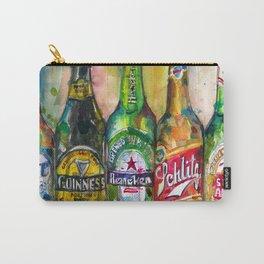 Miller Lite - Guinness- Heineken -Schlitz-Stella Artois Carry-All Pouch