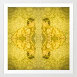 Projections III: Yellow Art Print