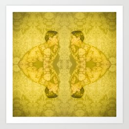 Projections III: Yellow Art Print