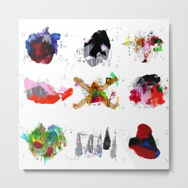 9 abstract rituals Metal Print