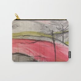 Color of Japan. Original Painting by Jodilynpaintings. Abstract Artwork. Carry-All Pouch