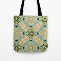 oasis Tote Bags featuring Oasis by Natalié Art&Living