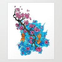 Paint Me A Tattoo Art Print