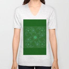 Mathematiks Luck - Klee  (A7 B0138) Unisex V-Neck