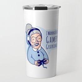 Gamer Grandma Travel Mug