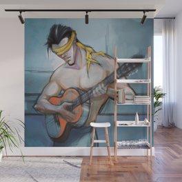 Blind Guitarist Wall Mural