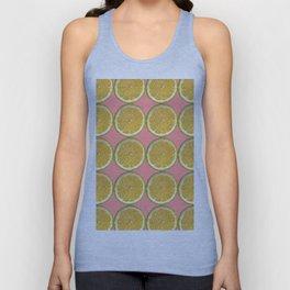 Lemons Citrus Fruit Color Photo Art Unisex Tank Top