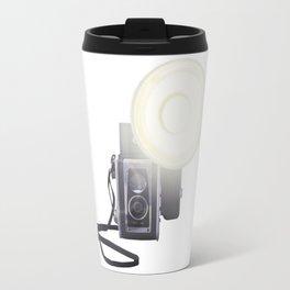 Vintage Twin Lens Reflex Camera Travel Mug