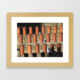 stacks Framed Art Print